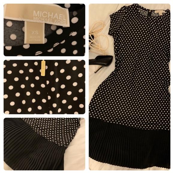 Michael Kors Dresses & Skirts - Michael Kors Polka Dot Dress